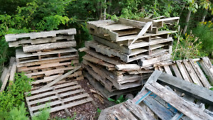 Free Wood/Pallets for burning