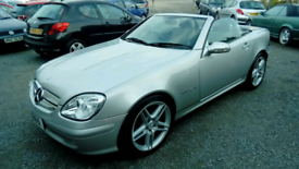 04 Mercedes SLK230 Convertible Auto 74000 Mls History Very Nice Car