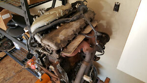 BMW E30 325IS 1990 Engine and 5 Speed Transmission, ECU, Harness