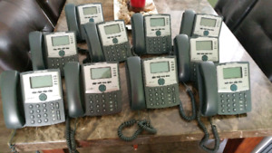 10 Cisco Voip Phones