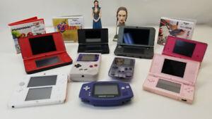 Avis aux amateurs...Vaste choix de Consoles portatives...