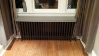 Cast Iron Hot water Radiators for sale. very good condition