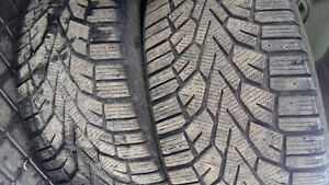 2 WINTER TIRES  245/40 /18  and  245/45/18