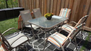 6 Seat Outdoor Patio Table