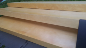 3 Birch Ikea Floating Shelves