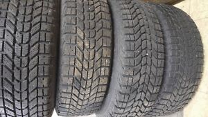 Set of 4 Winterforce Tires and Rims Great Shape!!!