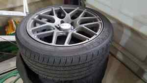 RTX Envy Rims: 215/45/R17  Cambridge Kitchener Area image 2