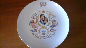 Royal Commemorative Plate- Birth of William