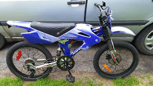 Motocross bicycle velo