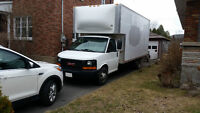 2004 GMC C/K 3500 CAMION CUBE 18 PIEDS Fourgonnette, fourgon