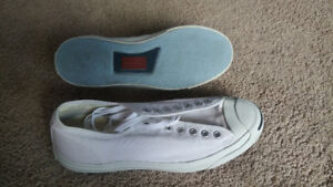 Converse Jack Purcell low profile unisex shoes (men's 9.5)