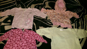 BABY GIRL CLOTHING 3-12 MONTHS IN SIZE