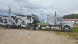 2014 Raptor trailer and 2004 Freightliner