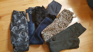 Lot of girls size 12 pants 6pairs to sell together