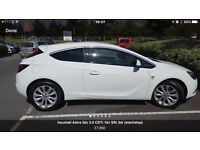 Wanted Astra gtc automatic 2 L diesel