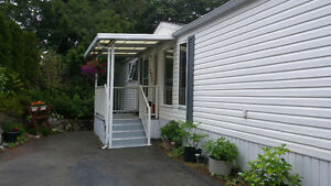 Home for sale South Nanaimo's in Seabreeze 55+ Mobile Home Park