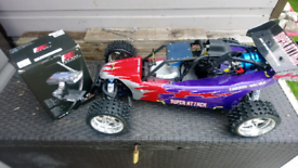 Petrol rc buggy for swaps