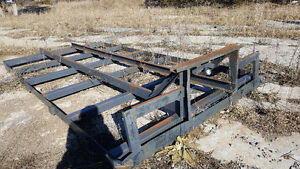 16ft x 8.5ft trailer frame open to trades