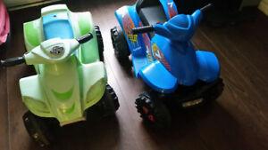 2 toddler 4 wheelers