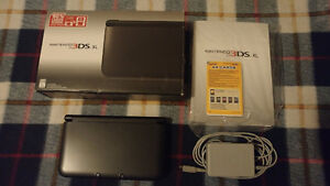 Nintendo 3DS XL Black + original box + manual + charger