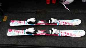 Junior ski package skis bindings and boots