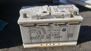 bmw oem  battery