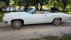 1970 Pontiac Catalina convertible two door with automatic