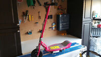 Razor E100 Pink Scooter 3 Weeks Old - $90