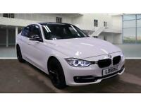 2012 BMW 3 Series 318d Sport 4dr ++ RED LEATHER 18 INCH ALLOYS DAB BLUETOO