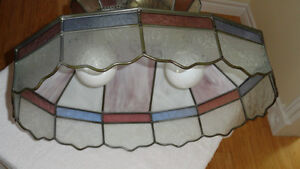 Oval Stained Glass Lamp Cambridge Kitchener Area image 4