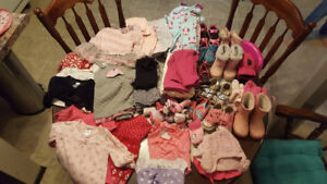 12-24 month girls clothing lot