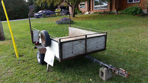 Utility Trailer strong and reliable