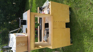 Lee Valley Tools, Router Table, will all brass fittings