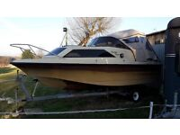 Shetland Family Four with Evinrude 55bhp