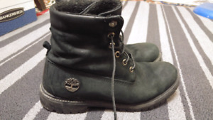 Black Timberlands Boot Size US 9.5