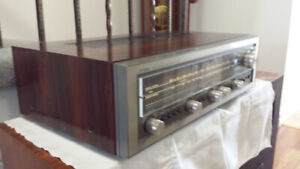 Vintage Luxman R3030 Stereo Receiver in Rosewood Case Excellent!