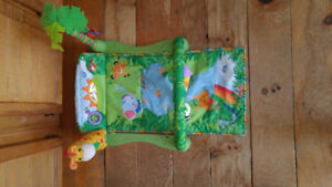 Fisher-Price 1 2 3 Musical Gym Play Mat for Babies