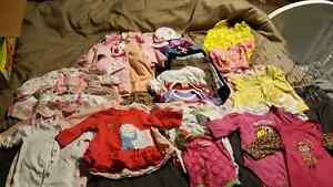 0 to 3 month girls clothes