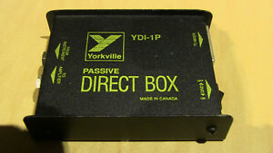 Yorkville Di Box  /  Yorkville YDI-1P Passive Direct Box