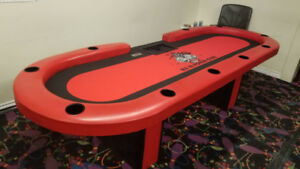 Planet Gaming Custom Made Poker Tables / Casino Games
