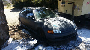 1992 Honda Civic Hatchback DOHC ZC..  As Is