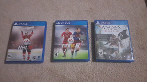 Ps4 games nhl 16 and fifa 16