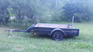 4x8 utility trailer in great condition