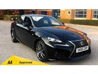 2015 Lexus IS 300h F-Sport CVT Automatic Petrol/Electric Saloon