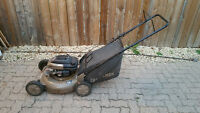 """Craftsman 6.75hp21"""" lawnmower with bag."""