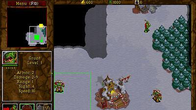 Szene aus Warcraft 2