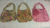 tote and yves rocher bags