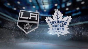 WANTED: Tickets, pair, LA Kings vs. Leafs October 15th.