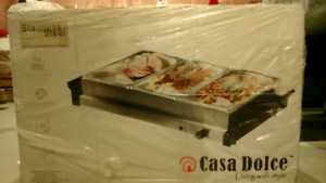 Food Warmer with 3 Trays.....each tray is 2.6 quarts