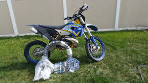 Husaberg te 300  with lots of Extras.  Just like KTM 300